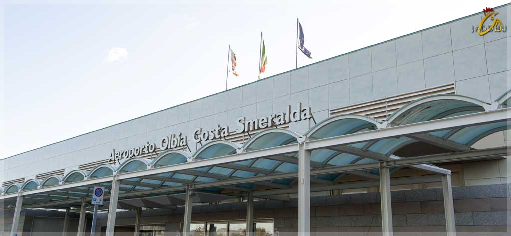 Olbia Costa Smeralda Airport entrance