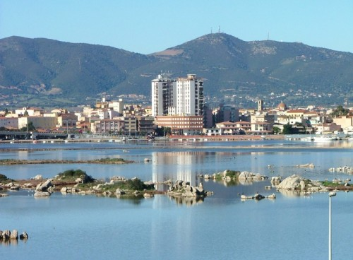 A panoramic view of Olbia